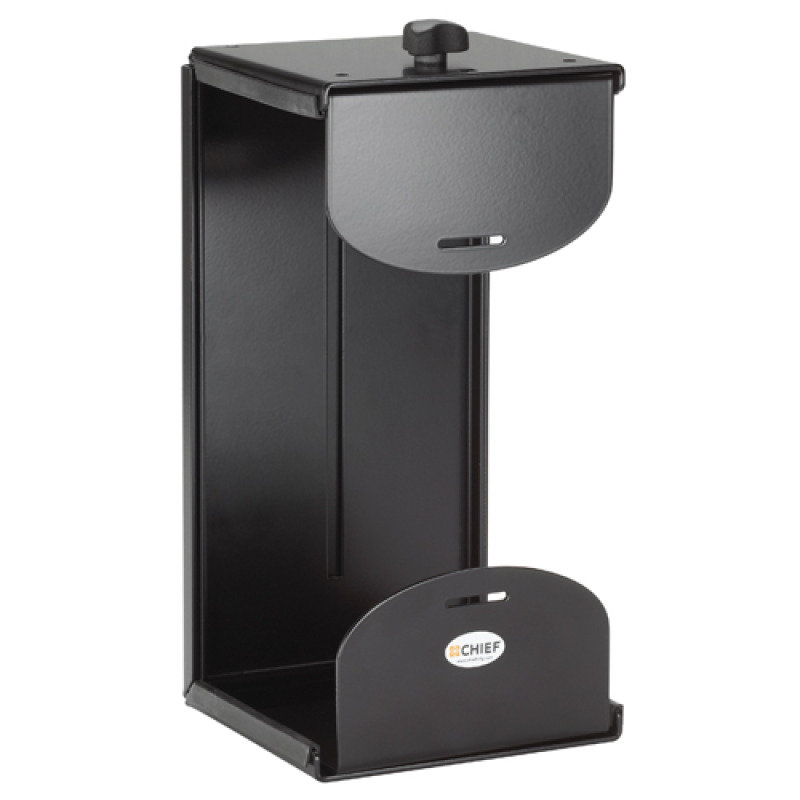 Chief KSA1020B - Mounting kit ( wall mount, desk mount ) for personal computer - black