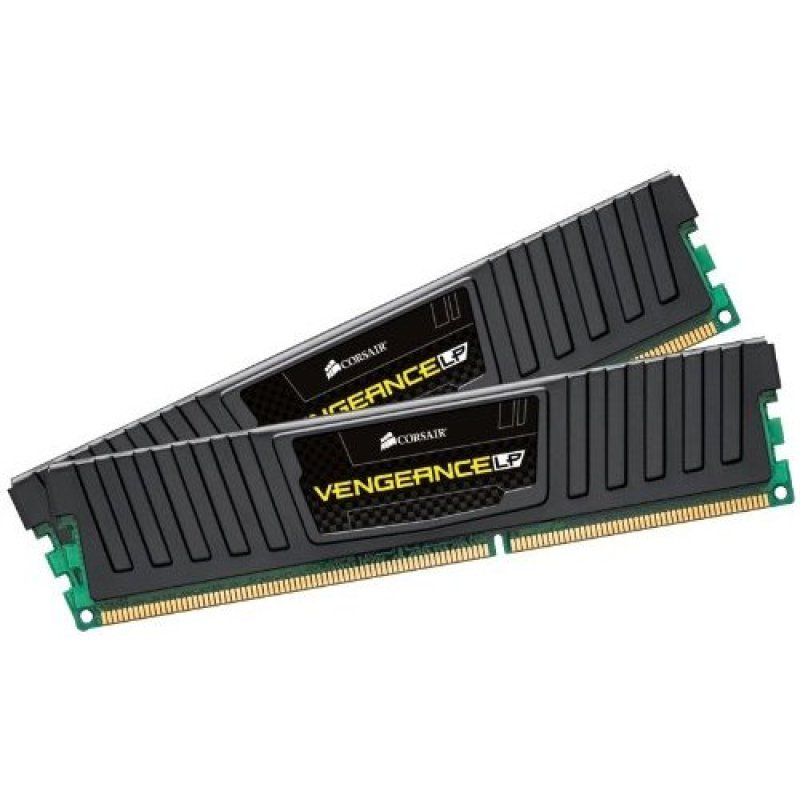 Corsair DDR3 1866MHz 16GB 2x240 Dimm Unbuffered 10111030 Vengeance Black Low Profile Heatspreader Core i7 Core i5 and Core 2AMD Phenom II  Dual Channel 1.5V