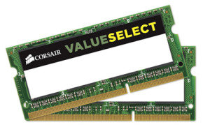 Corsair 8GB DDR3 1600MHz 2x4GB Laptop Memory
