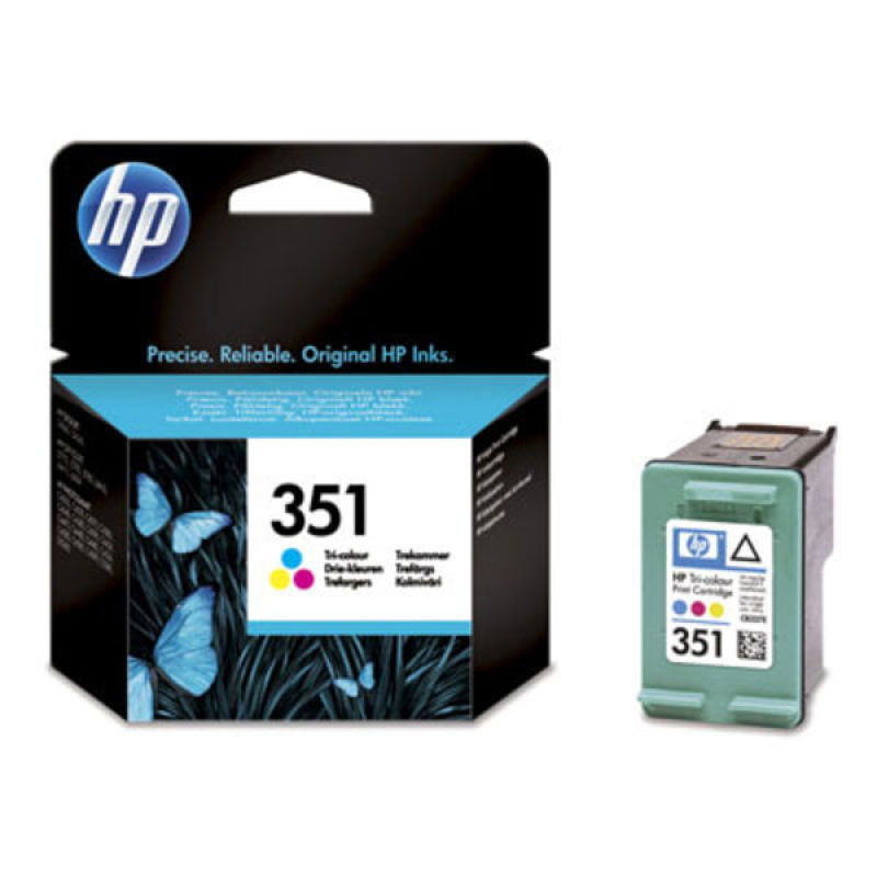 HP No 351 Ink Cart/Tri-colourVivera Inks