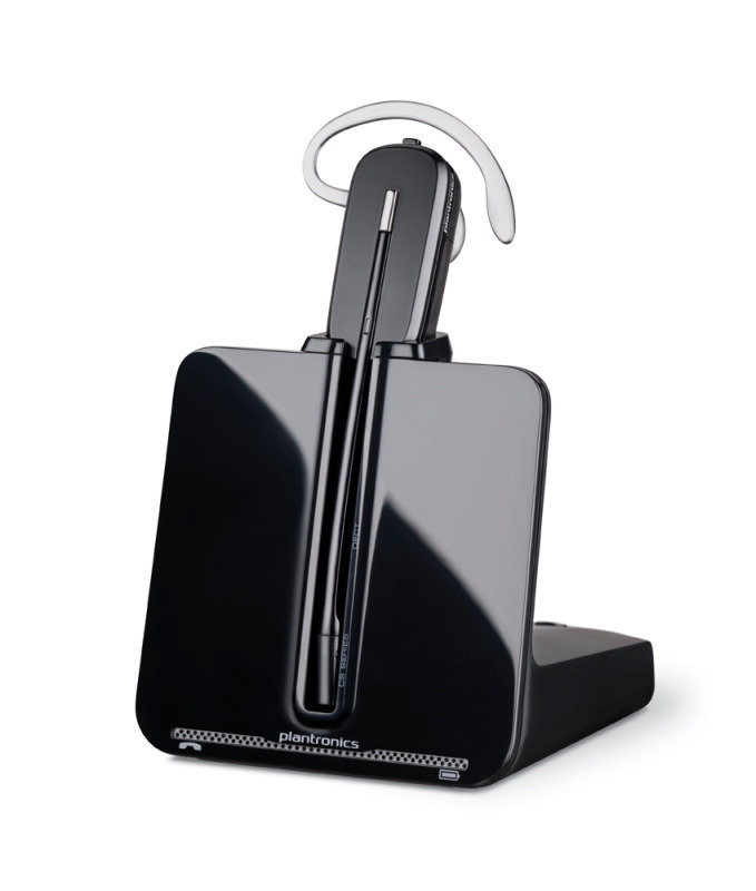Image of Plantronics CS 540 Headset with Plantronics APA-22 Electronic Hook