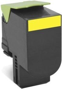 Lexmark 802HY Yellow High Yield Toner Cartidge