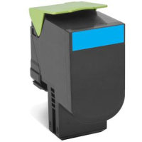 Lexmark 802HC High Yield Cyan Toner Cartridge