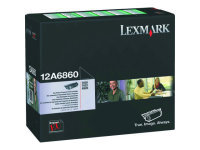 Lexmark 12A6860 Black Toner For Optra T620/T622