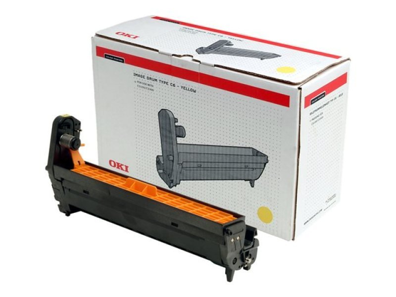 Oki Yellow Printer Drum C5100/5200/5300/5400