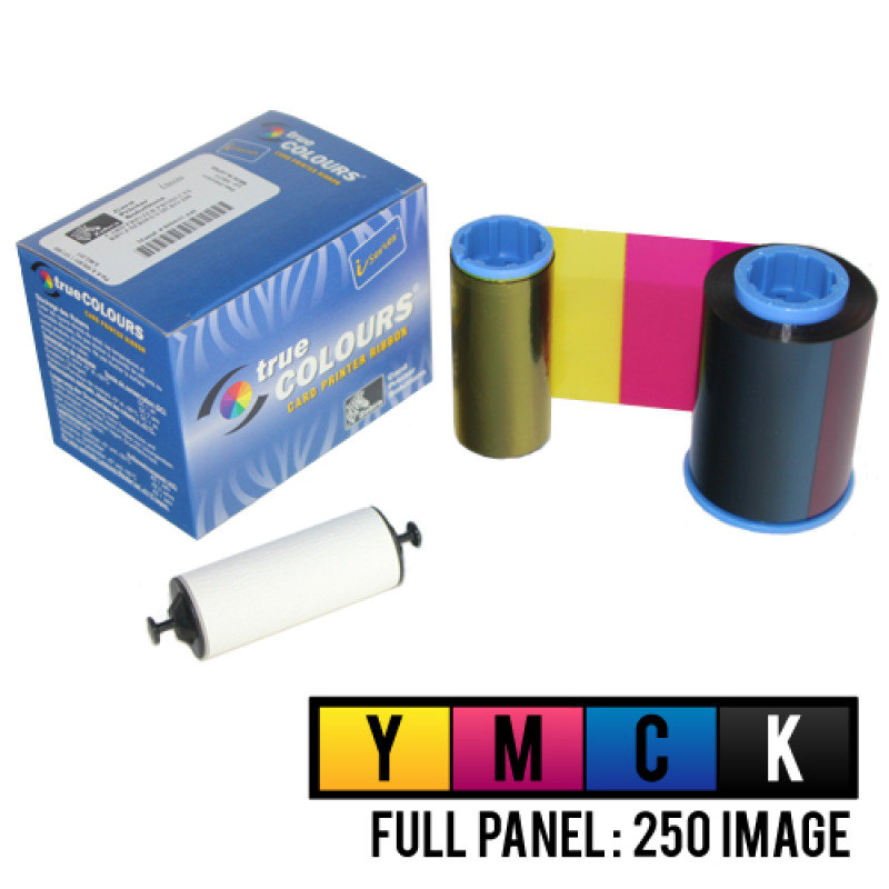Ribbon I Series Ymck Clr 250 - Images For P310i Printer