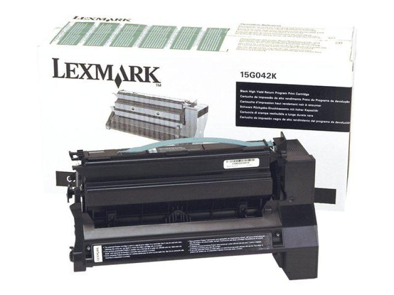 Lexmark Return Program Toner - Cartridge Black 15k Pgs F/ C75