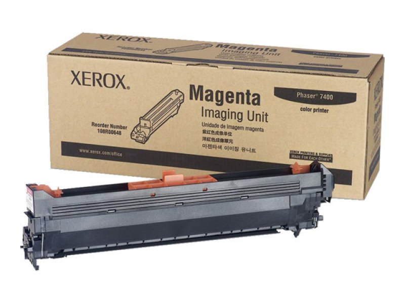 Xerox 108R00648 Magenta Imaging Unit 30,000 Pages
