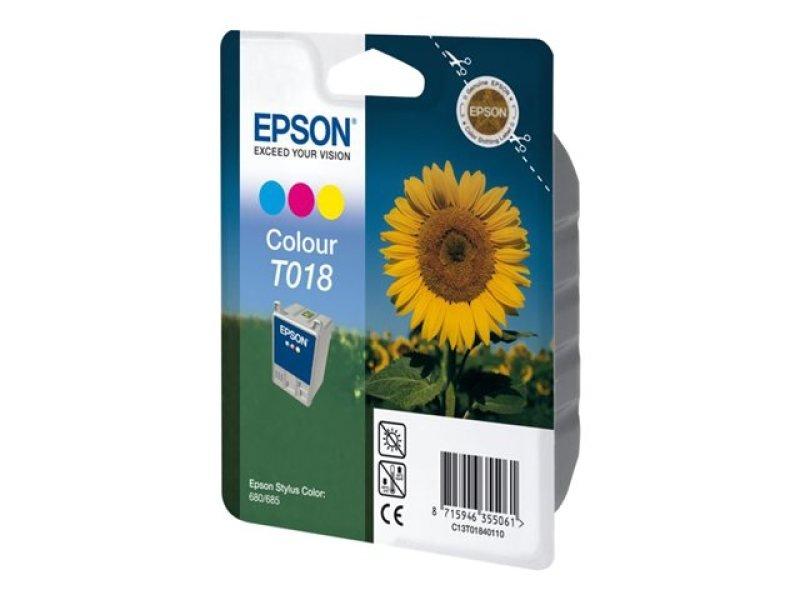 Epson Ink Cartridge Colour - F/ Stylus Clr 680(tr)/685 Ns