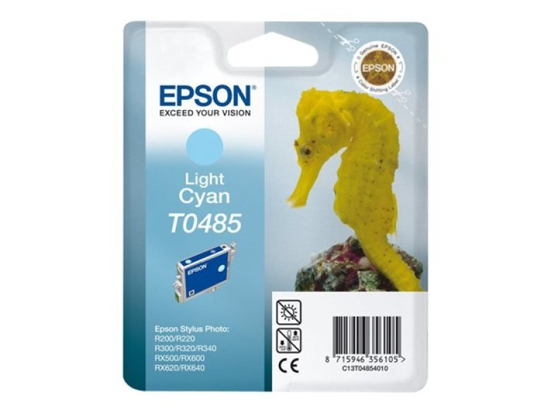Epson T0485 13ml Light Cyan Ink Cartridge 430 Pages