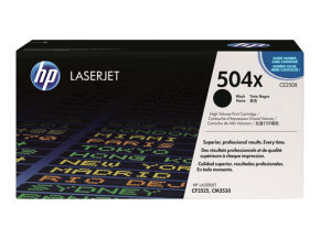 HP 504X Black Toner Cartridge 10,500 Pages - CE250X