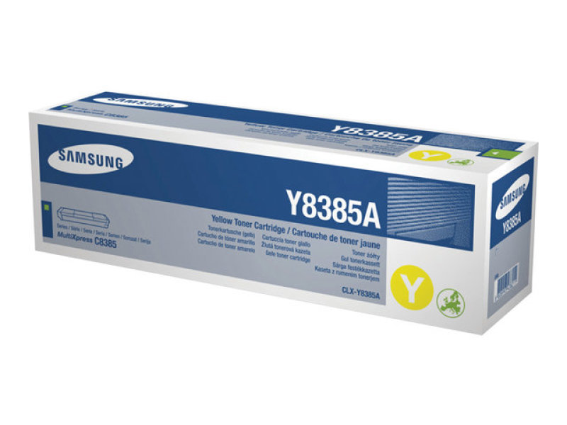 Samsung CLX-Y8385A Yellow Toner Cartridge 15000 Pages