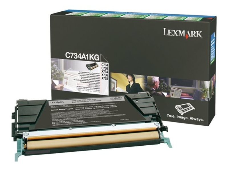 *Lexmark - Toner cartridge - 1 x black - 8000 pages - LRP / LCCP