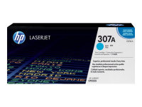 HP 307A Cyan Toner Cartridge 7300 Pages - CE741A