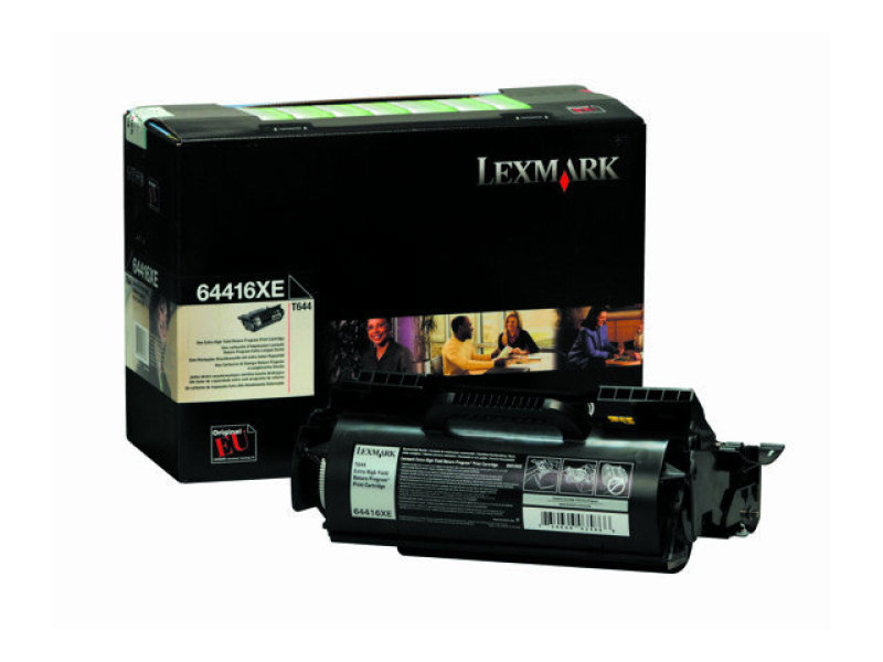 Lexmark - Toner cartridge - Extra High Yield - 1 x black - 32000 pages - LRP