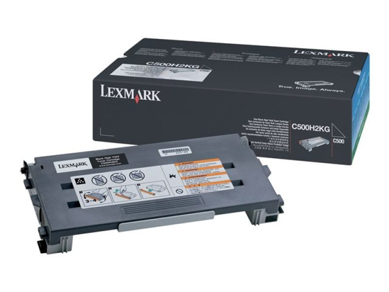 Lexmark C500 Black Toner cartridge