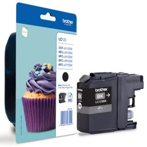 Brother LC123BK Black Ink Cartridge