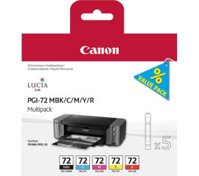 *Canon PGI 72 Multipack Ink Cartridges