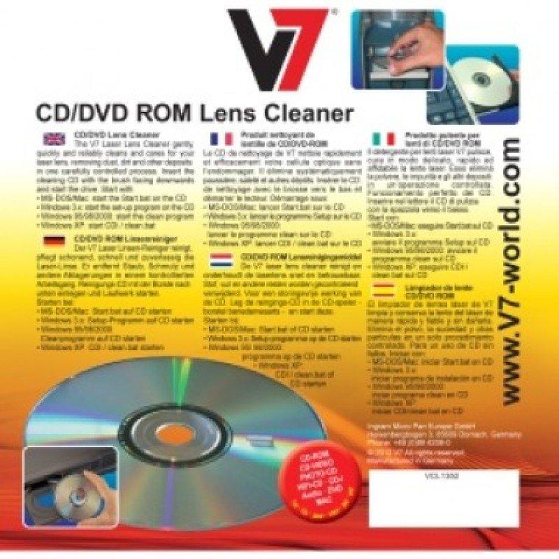 V7 Cd Dvd Lens Cleaner - .