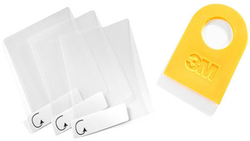 SPARE SCREEN PROTECTORS - 3 PAC - .