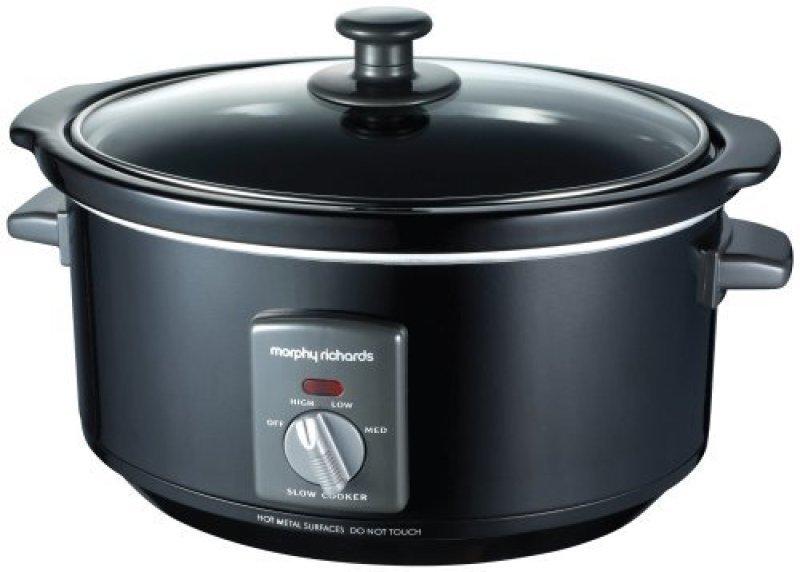 Image of Morphy Richards 48703 3.5ltr Slow Cooker Black