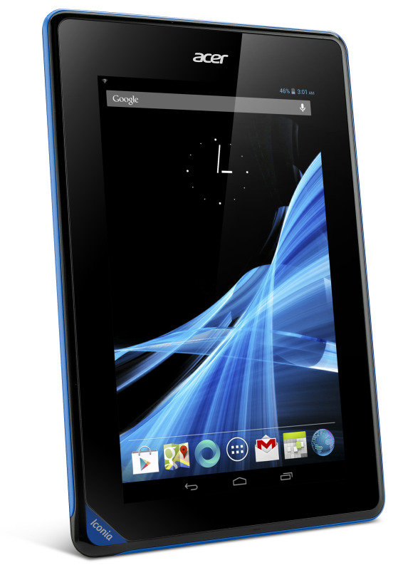 "Acer Iconia B1-A71 Tablet PC, Dual Core Cortex A9 1.2GHz, 512MB RAM, 8GB Flash, 7"" Touch, Camera, Wifi, Android Jelly Bean"