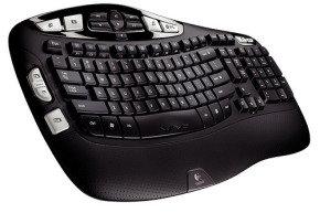 Logitech Wireless Keyboard K350 for Business UK layout