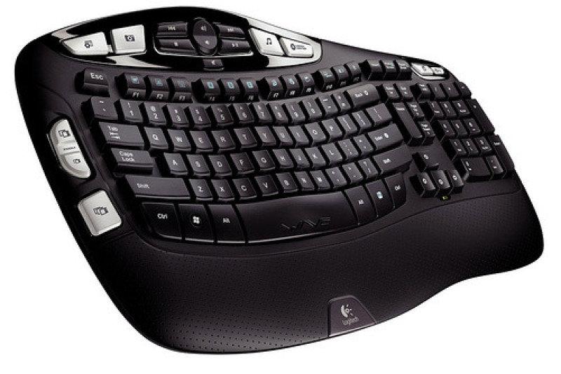 Image of Logitech Wireless Keyboard K350 for Business UK layout