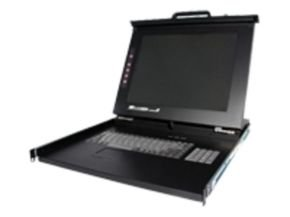 "Startech Duraview 17"" Folding Rackmount LCD Console 1U"
