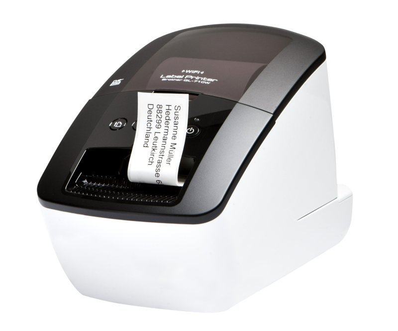 Brother QL-710W Professional Address Label Printer with Wireless