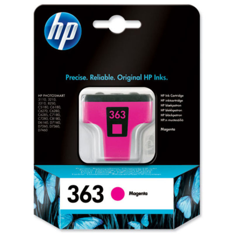 *HP 363 Magenta Ink Cartridge - C8772EE