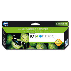 HP 971XL Cyan Ink Cartridge - CN626AE