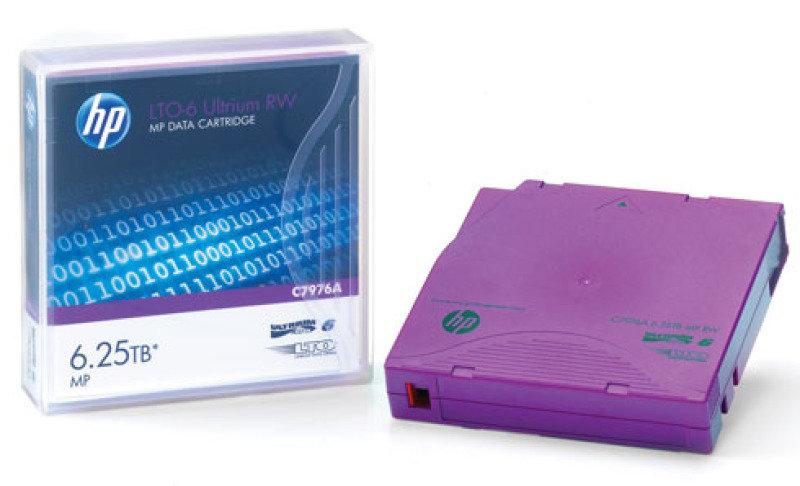 HPE C7976AN Ultrium LTO 6 Back Up Media - 20 Pack Non Custom Label