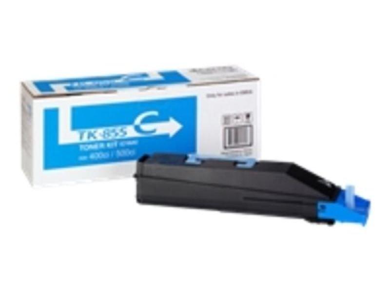 Kyocera TASKalfa 400Ci 500Ci Toner Cartridge Cyan TK-855C