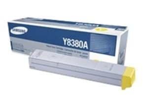 Samsung CLX-Y8380A Yellow Laser Toner Cartridge 15,000 Pages