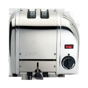 Dualit Vario 2 Slice Toaster Polished Stainless Steel