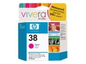 *HP 38 27ml Pigmented Magenta Ink Cartridge