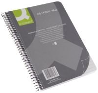 Q-Connect A5 Spiral Notepad Pack of 5