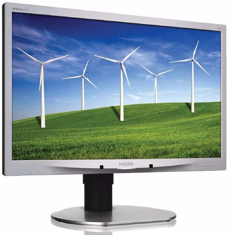 Philips 220B4LPCS 22&quot LED LCD DVI Monitor