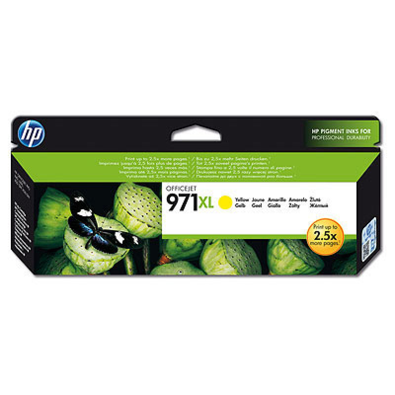HP 971XL Yellow Ink Cartridge - CN628AE