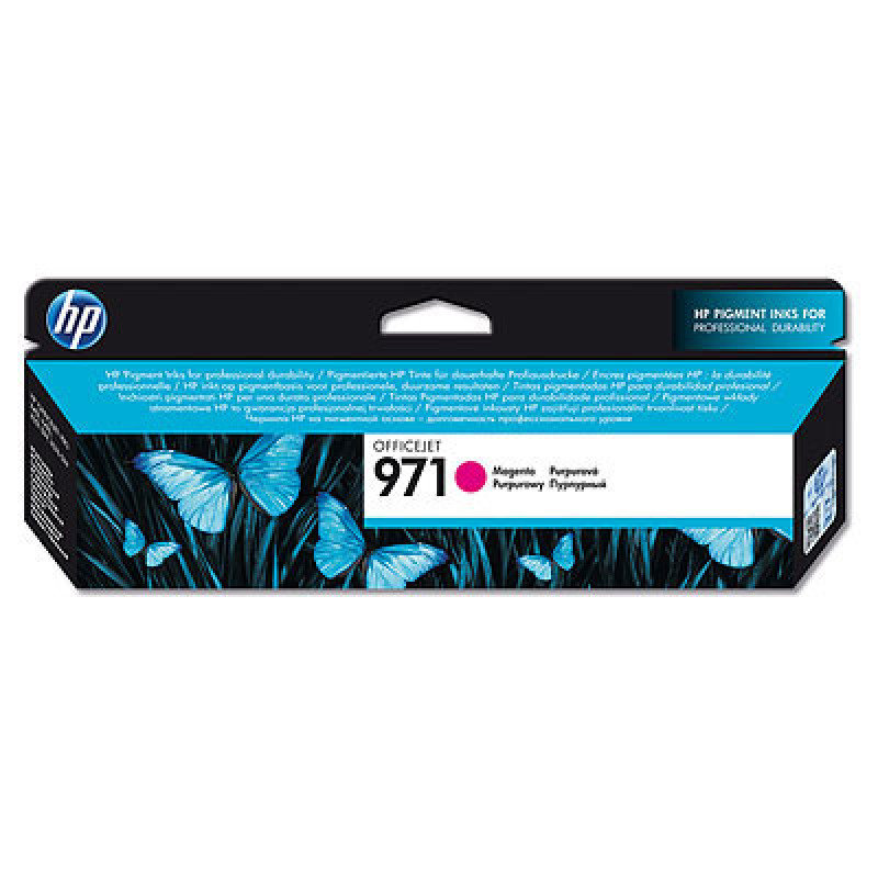 HP 971 Magenta Ink Cartridge - CN623AE