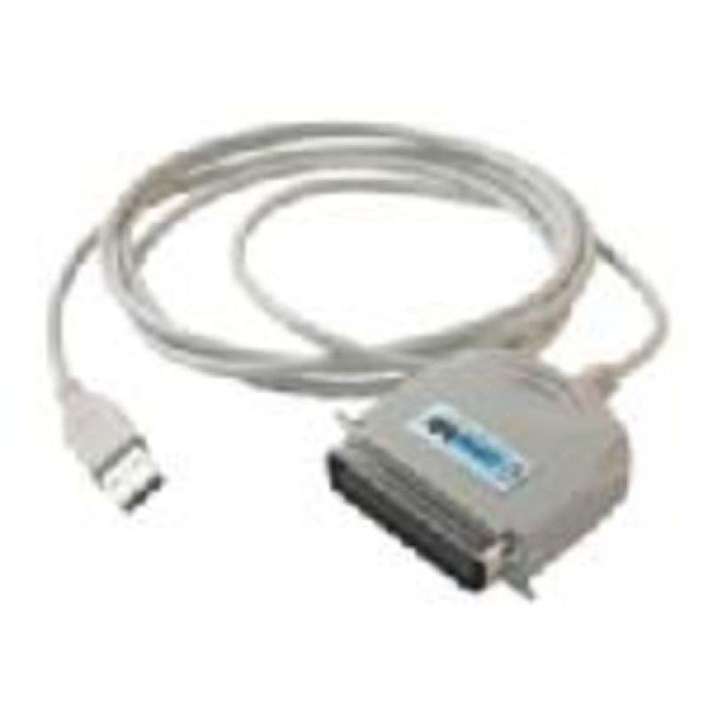EXDISPLAY C2G, USB 1284 DB25 Parallel Printer Adapter