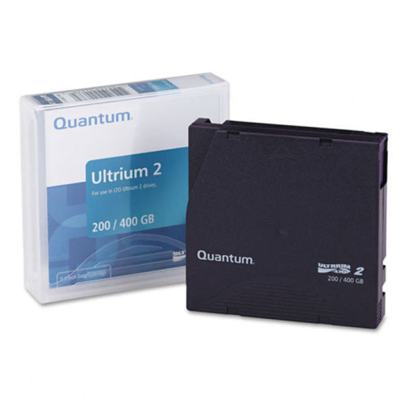 Quantum LTO Ultrium 2 200-400GB Backup Media Tape