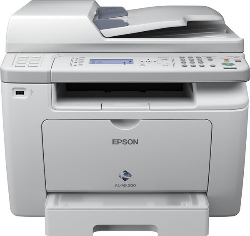 Image of Epson WorkForce AL- MX200DNF All In One Mono Laser Printer
