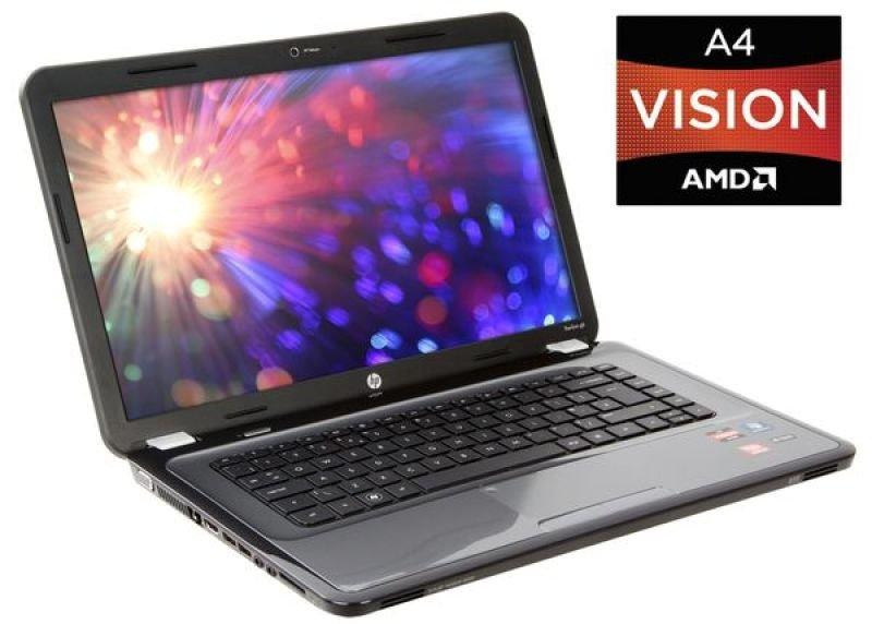 """Hp Pavilion G6-1311 Laptop, Amd Dc A4-3305m 1.9ghz, 6gb Ram, 500gb Hdd, 15.6"""" Hd Led, DVD±rw, Amd Hd6480g, Webcam, Windows 7 Home Premium 64"""