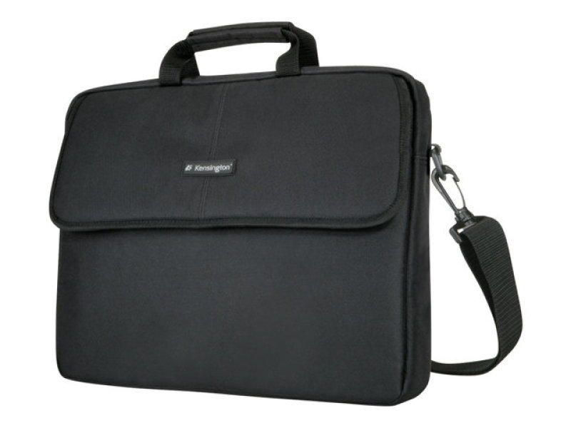 """Kensington SP Classic Notebook Sleeve for up to 15.4"""" Laptop  Black"""
