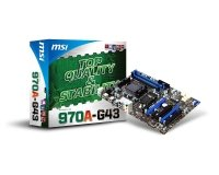 MSI 970A-G43 Socket AM3+ LAN 8-channel audio ATX Motherboard