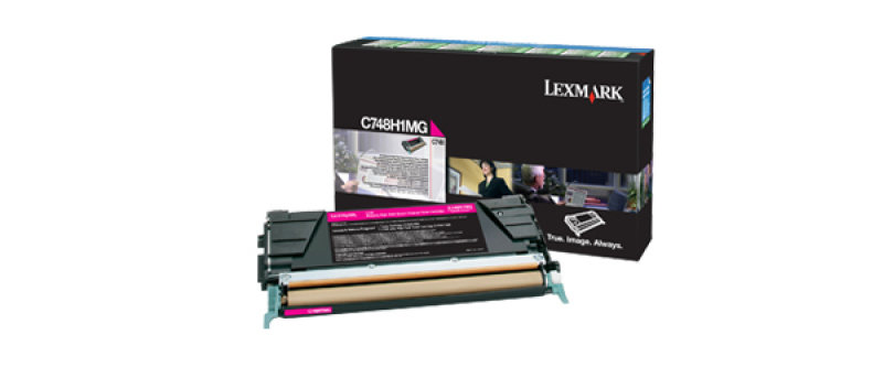 Lexmark C748 Magenta Toner cartridge