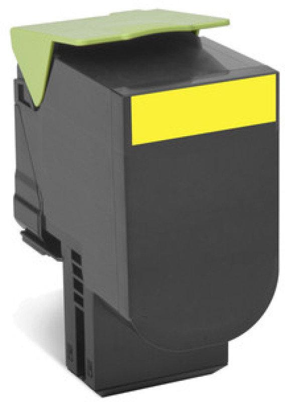 Lexmark 702HYE Yellow High Yield Toner Cartridge