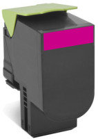 Lexmark 702HME Magenta High Yield Toner Cartidge